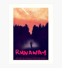 Kanye West -  Runaway Movie Poster Art Print