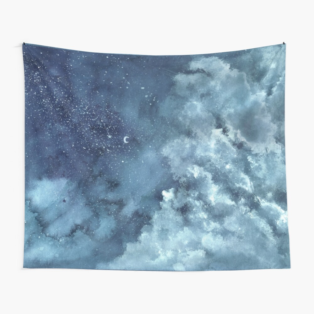 Die Wolken I Wandbehang