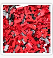 Loads of Bricks (red) Sticker