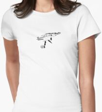 Raygun Womens Fitted T-Shirt