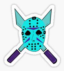 NES Jason Voorhees Sticker