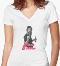 F*** Trevor Women's Fitted V-Neck T-Shirt