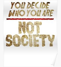 You Decide Who You Are! Poster