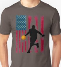 basketball spieler flagge fahne usa amerika u.s. patriot T-Shirt