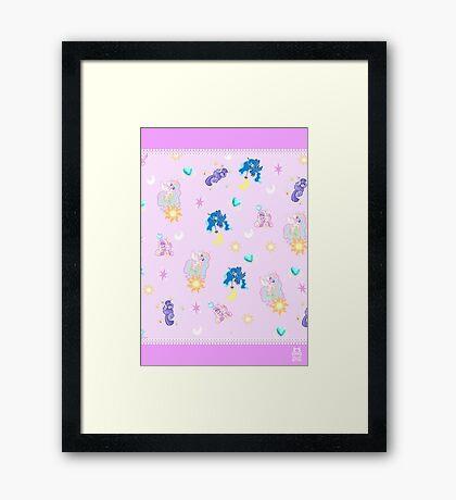 Pony Princesses Framed Print