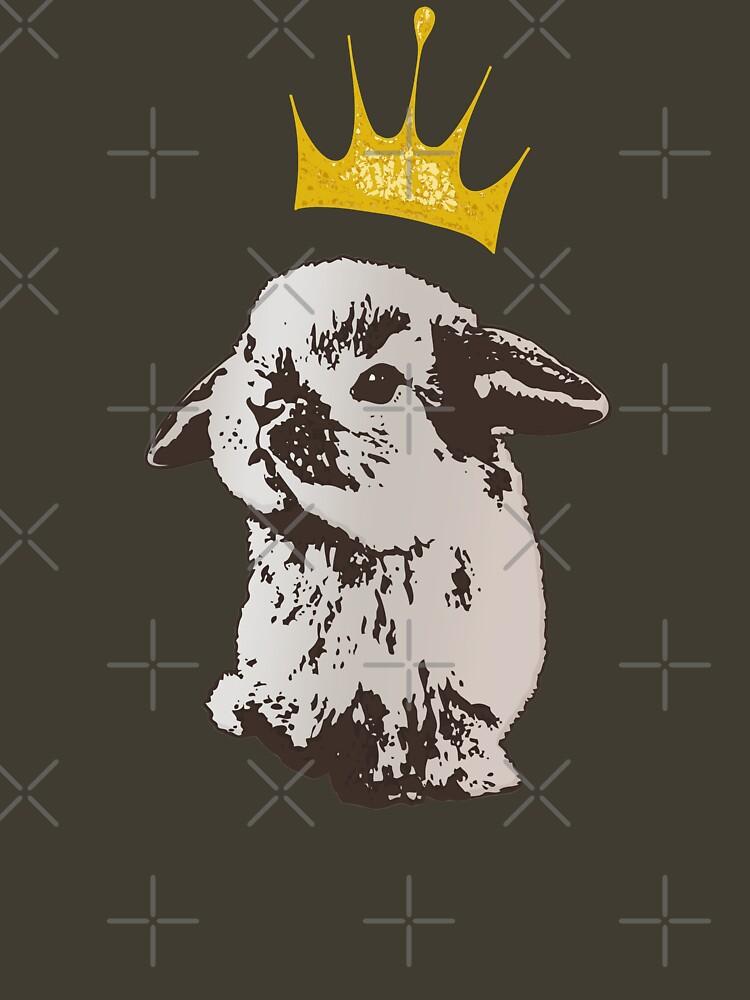 Grumpy Bunny by LittleMissTyne
