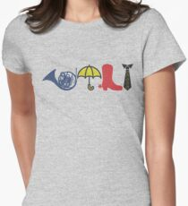 HIMYM Icon Design Womens Fitted T-Shirt