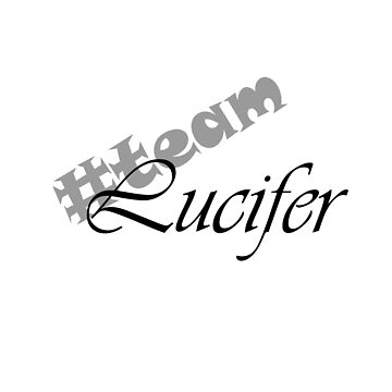 #team lucifer by Onager