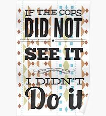 If The Cops Poster