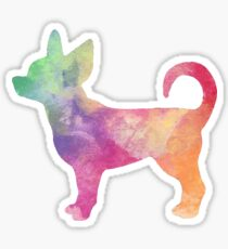 Rainbow Chihuahua Sticker
