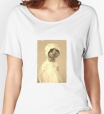 Creepy Victorian Era  Heartly Women's Relaxed Fit T-Shirt