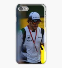 Fernando Alonso Formula 1 iPhone Case/Skin