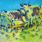Randall Lineback Cows by MikeJory