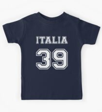 Italia country code Italy Kids Tee