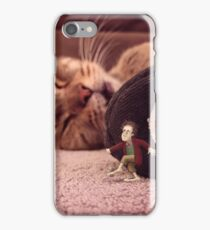 bilbo & smaug - hell's kitchen iPhone Case/Skin