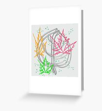 art flower abstract beauty backgrounds beautiful nature floral spring Greeting Card