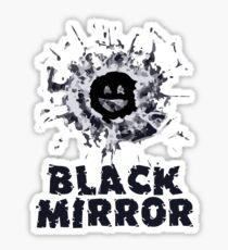 Black Mirror Series Shirt Sticker