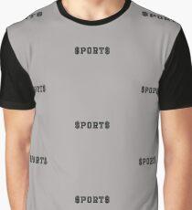 $port$ sports money money Graphic T-Shirt