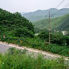 The Mountain Road Near Sangjung-ri, South Korea by koreanrooftop