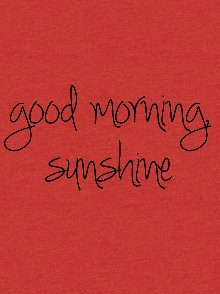 Guten Morgen Sonnenschein von coachella