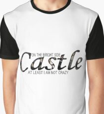 Castle - Not Crazy Graphic T-Shirt