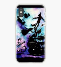 Vinilo o funda para iPhone Peter Pan's Forever Young