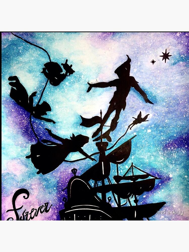 Peter Pan's Forever Young de drawings-rachel