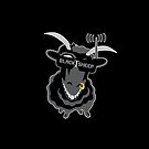 Team BlackSheep PILLOW (black) by aufmschlauch