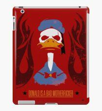 Donald Duck Bad Motherfucker iPad Case/Skin