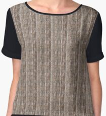 hardwood texture Women's Chiffon Top