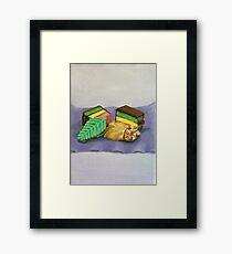 Cookies and Sprinkles Painting Framed Print