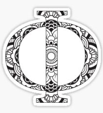 Phi-mandala design Sticker