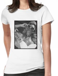 Chanel West Coast glasses Womens Fitted T-Shirt