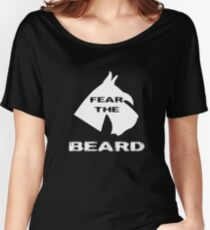 Fear The Beard Schnauzer Women's Relaxed Fit T-Shirt