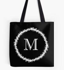 Monochrome Monogram M Tote Bag
