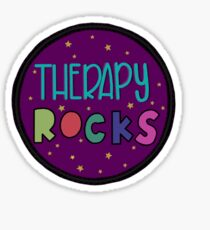 Therapy ROCKS Sticker