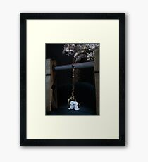 The Cats rule the Nights Framed Print