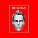 Be Human - White  Outline by Ivan Bruffa