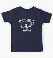 Spirit of Detroit (Vintage Distressed Design) Kids Tee