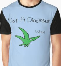 Pterodactyl - Not A Dinosaur Graphic T-Shirt