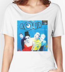 """Aqua """"Aquarium"""" Album Cover Women's Relaxed Fit T-Shirt"""