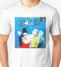 "Aqua ""Aquarium"" Album Cover Unisex T-Shirt"