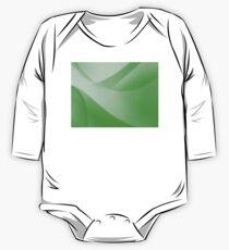 Green Wallpaper One Piece - Long Sleeve