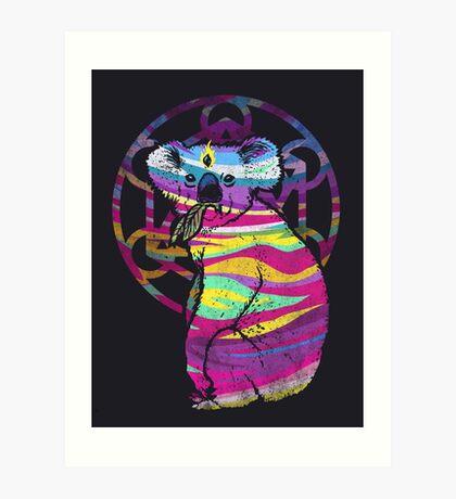 Enlightened Koala  Art Print