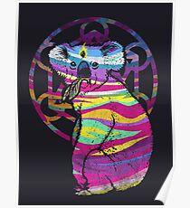 Erleuchteter Koala Poster
