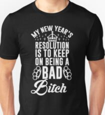 New Year's Resolution Unisex T-Shirt