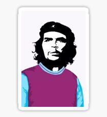Che Guevara football legacy - West Ham United Sticker