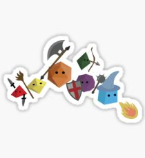 Dice Party Sticker