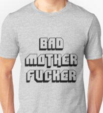 Camiseta ajustada Bad mother fucker