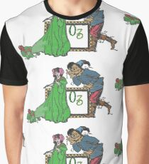 Ozma and The Scarecrow Graphic T-Shirt